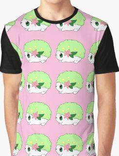Cute Shaymin Land Form Pokemon Graphic T-Shirt