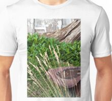 A Garden Scene  Unisex T-Shirt