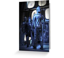Doctor Who and The Tomb of the Cybermen Greeting Card