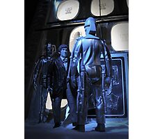 Doctor Who and The Tomb of the Cybermen Photographic Print