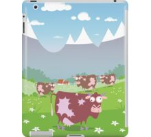 Cows on the meadow iPad Case/Skin