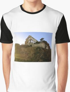 Skeletal House Graphic T-Shirt