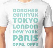 Oppa Oppa (Blue Ver) Unisex T-Shirt