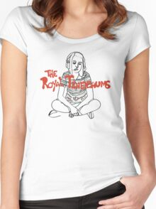 Young Margot Tenenbaum #2 Women's Fitted Scoop T-Shirt