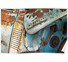 Rusty Chevy Poster