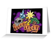 Count It Out Greeting Card