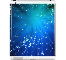 Blue Optical Fibers iPad Case/Skin