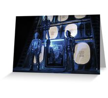 The Tomb of the Cybermen Greeting Card