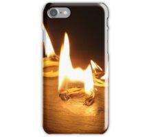 Burning Kindlings iPhone Case/Skin
