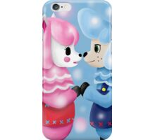 Animal Crossing Reese and Cyrus  iPhone Case/Skin