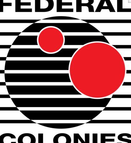 Federal Colonies T shirt Sticker