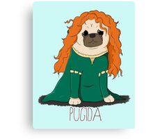 Pugida! Canvas Print