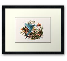 Wings of Courage Framed Print
