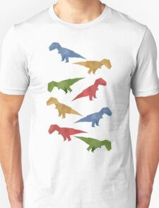 T-rex Origami Unisex T-Shirt