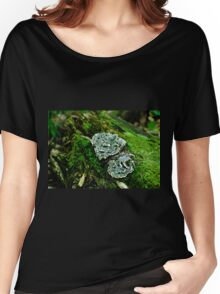 Fungus on a Tree Stump  Women's Relaxed Fit T-Shirt