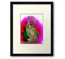 Sketch Sparrow Framed Print