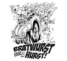 Bratwurst with a Hurst! Photographic Print