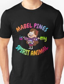 Mabel Pines is my Spirit Animal Multicolor T-Shirt