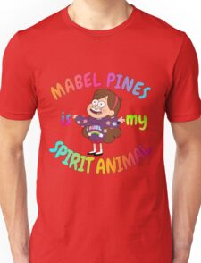 Mabel Pines is my Spirit Animal Multicolor Unisex T-Shirt