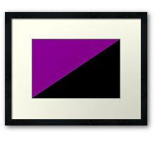 Anarchist Feminism Flag Framed Print