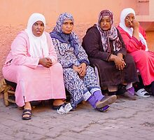 Women in Marrakesh by Robert Kelch, M.D.