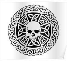 Skull Cross Poster