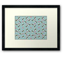 Bees & Bows Framed Print