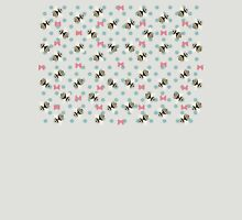 Bees & Bows - In Pink Unisex T-Shirt