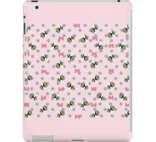 Bees & Bows - In Pink iPad Case/Skin