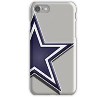 Cowboys star iPhone Case/Skin