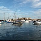 Late Afternoon At Lyme Harbour............Dorset UK by lynn carter