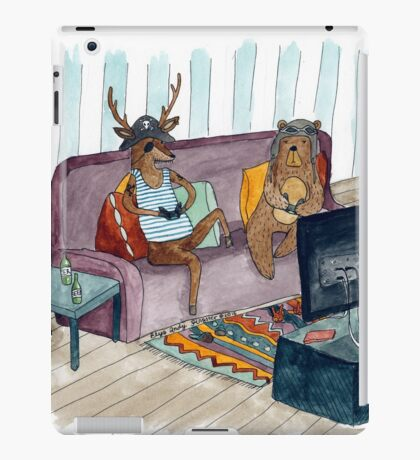 How I spent my holidays iPad Case/Skin