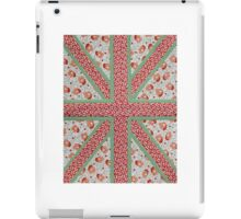 British Kitsch Flag iPad Case/Skin