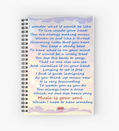 Music is Your Soul Spiral Notebook