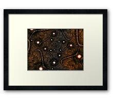 Shades of Brown Framed Print