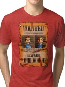 MOTHER 3 Wanted Poster Tri-blend T-Shirt
