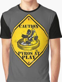 TF2: Pyros At Play Graphic T-Shirt