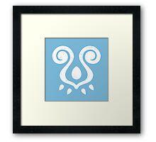 Wind Waker Logo - Blocks Framed Print