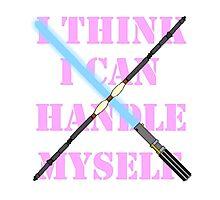 Rey Quote- Pink Photographic Print
