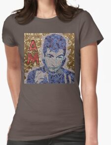 The Alex, lead singer of AM - Bottle Cap Mosaic Womens Fitted T-Shirt