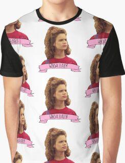 Kimmy Gibbler Whoa Baby Full House Graphic T-Shirt