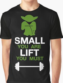 Yoda Workout Shirt Graphic T-Shirt