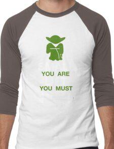 Yoda Workout Shirt Men's Baseball ¾ T-Shirt