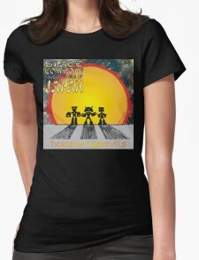 Space Cowboys Under The Sea Of Japan Womens Fitted T-Shirt