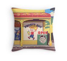 Shop, Bro Throw Pillow