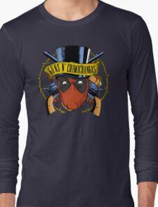 Guns n Chimichangas Long Sleeve T-Shirt