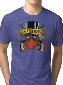 Guns n Chimichangas Tri-blend T-Shirt