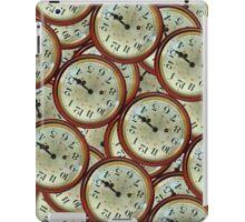 Vintage clocks pattern iPad Case/Skin