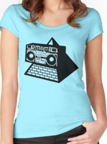 PYRAMID BLASTER Women's Fitted Scoop T-Shirt
