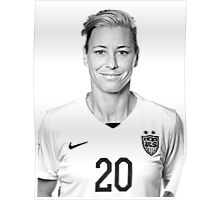 Abby Cutout  Poster
